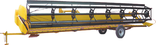 Mounted roller header 9.1