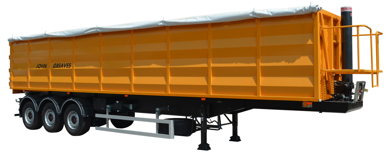 Semi-trailer Grain Carrier